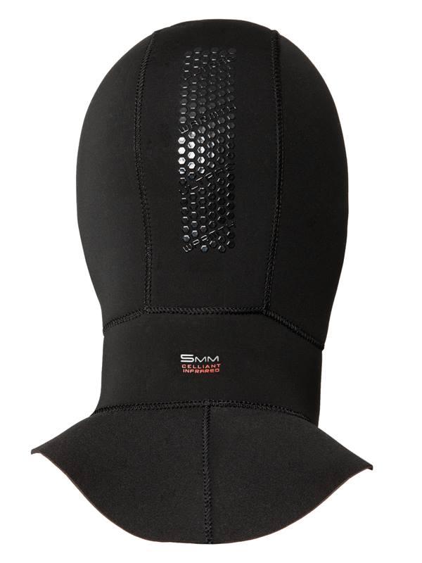 5mm Ultrawarmth Wet Hood - back