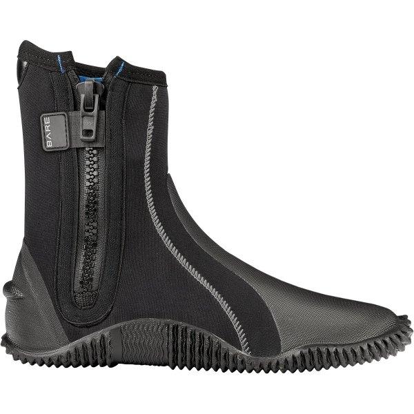5mm boot zipper side