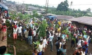 Ambazonians Mass Protest