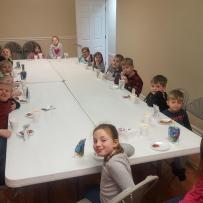 Children's Ministry Valentine Party