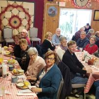 Senior JOY Luncheon at Bell Buckle Cafe