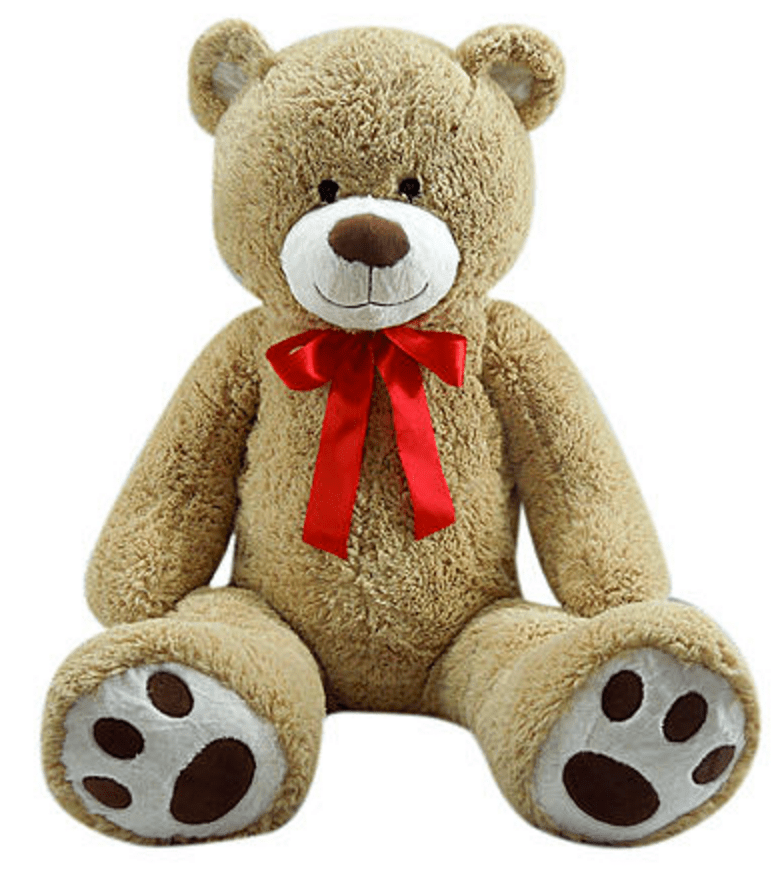 Valentines Day Gift Idea GIANT Plush Bears For Only 24