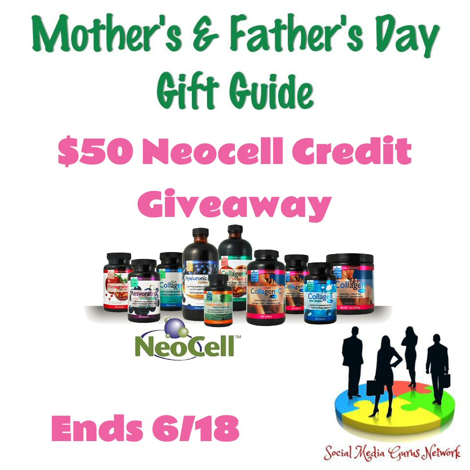 $50 Neocell Father's Day Giveaway Ends 6/18/2017