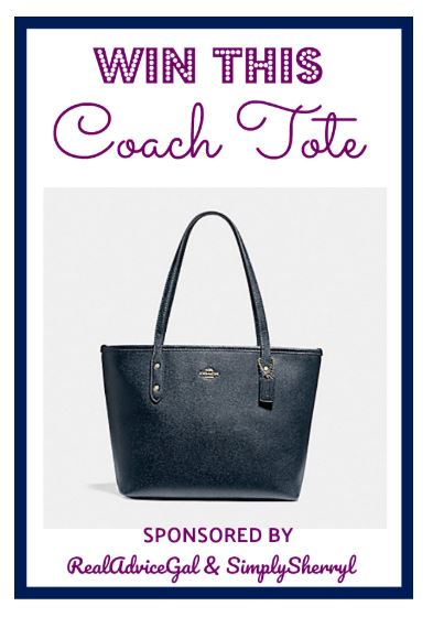 Coach Tote Giveaway! Ends December 7 (Friday) 11:59 pm EST
