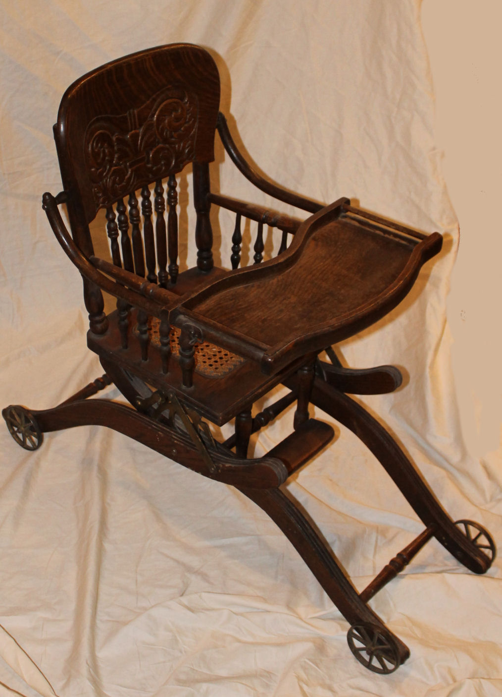 Bargain John S Antiques Antique Oak Folding Up And Down