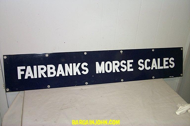 Bargain Johns Antiques Antique Fairbanks Scale