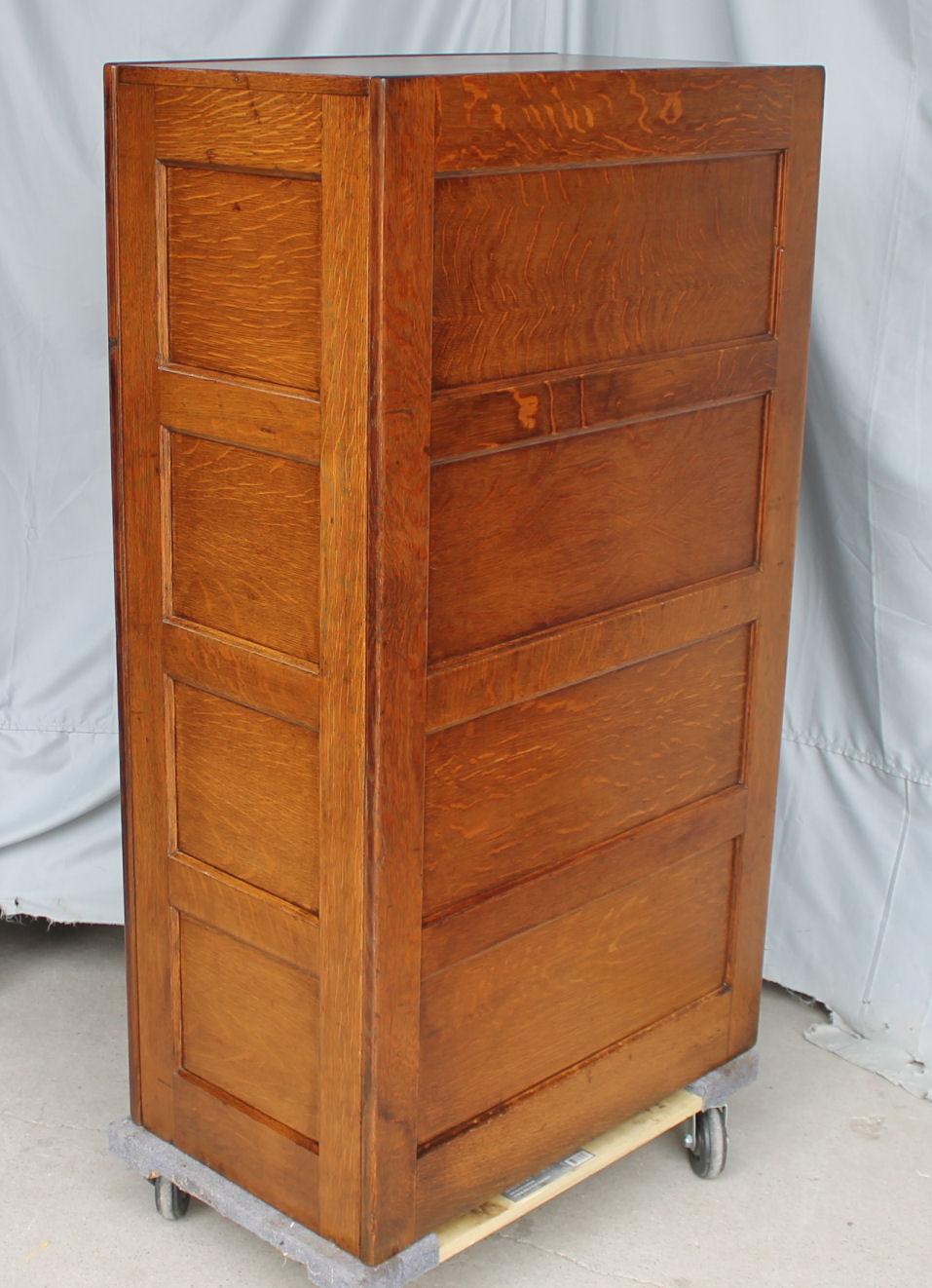 Bargain John S Antiques Antique Oak File Cabinet 4