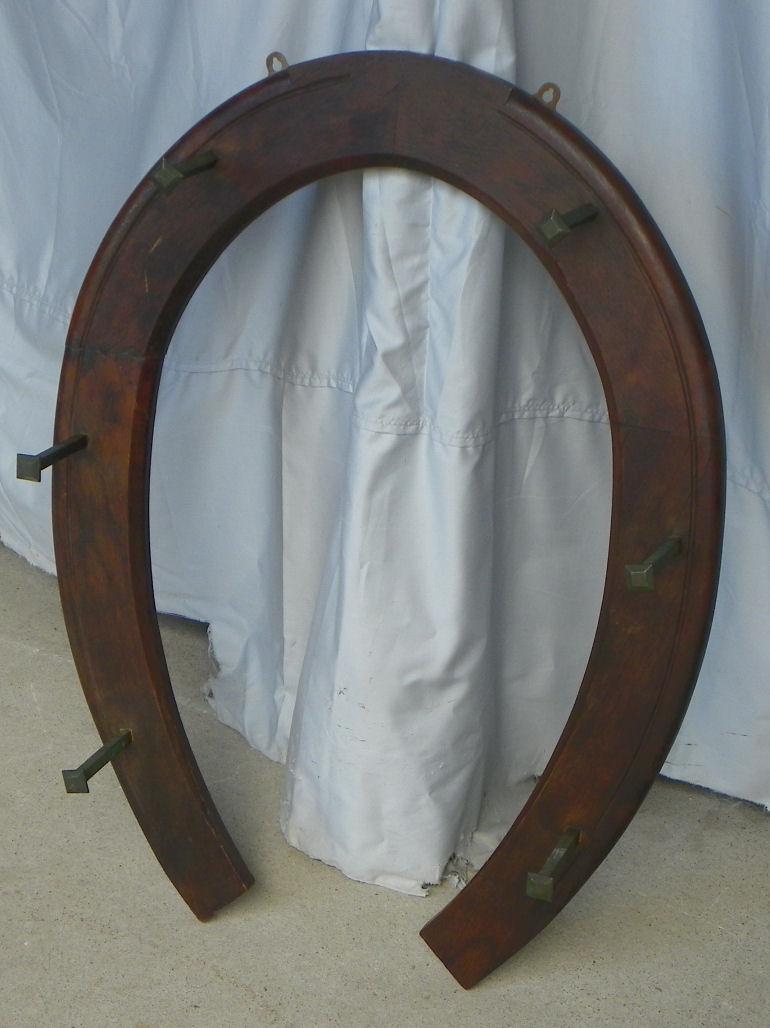 Bargain John S Antiques Antique Oak Horse Shoe Shaped