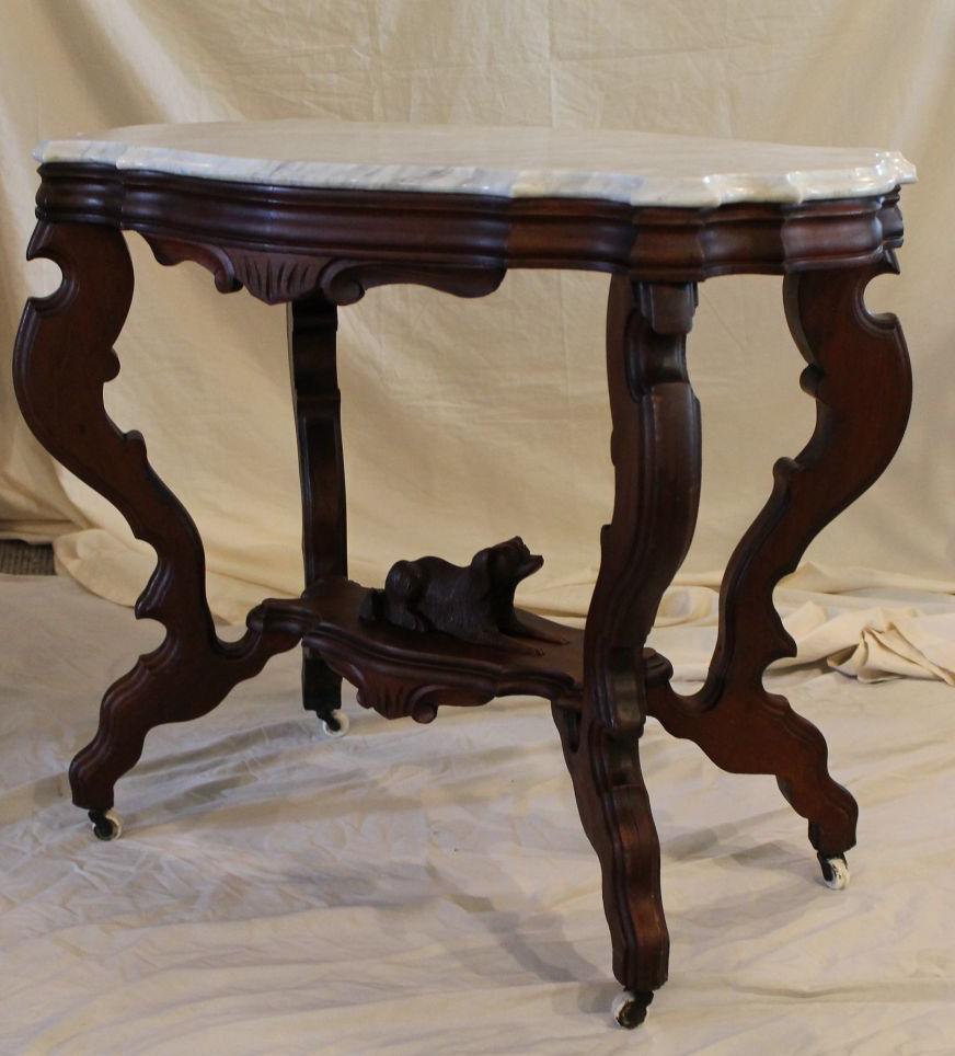Bargain Johns Antiques Antique Victorian Marble Top