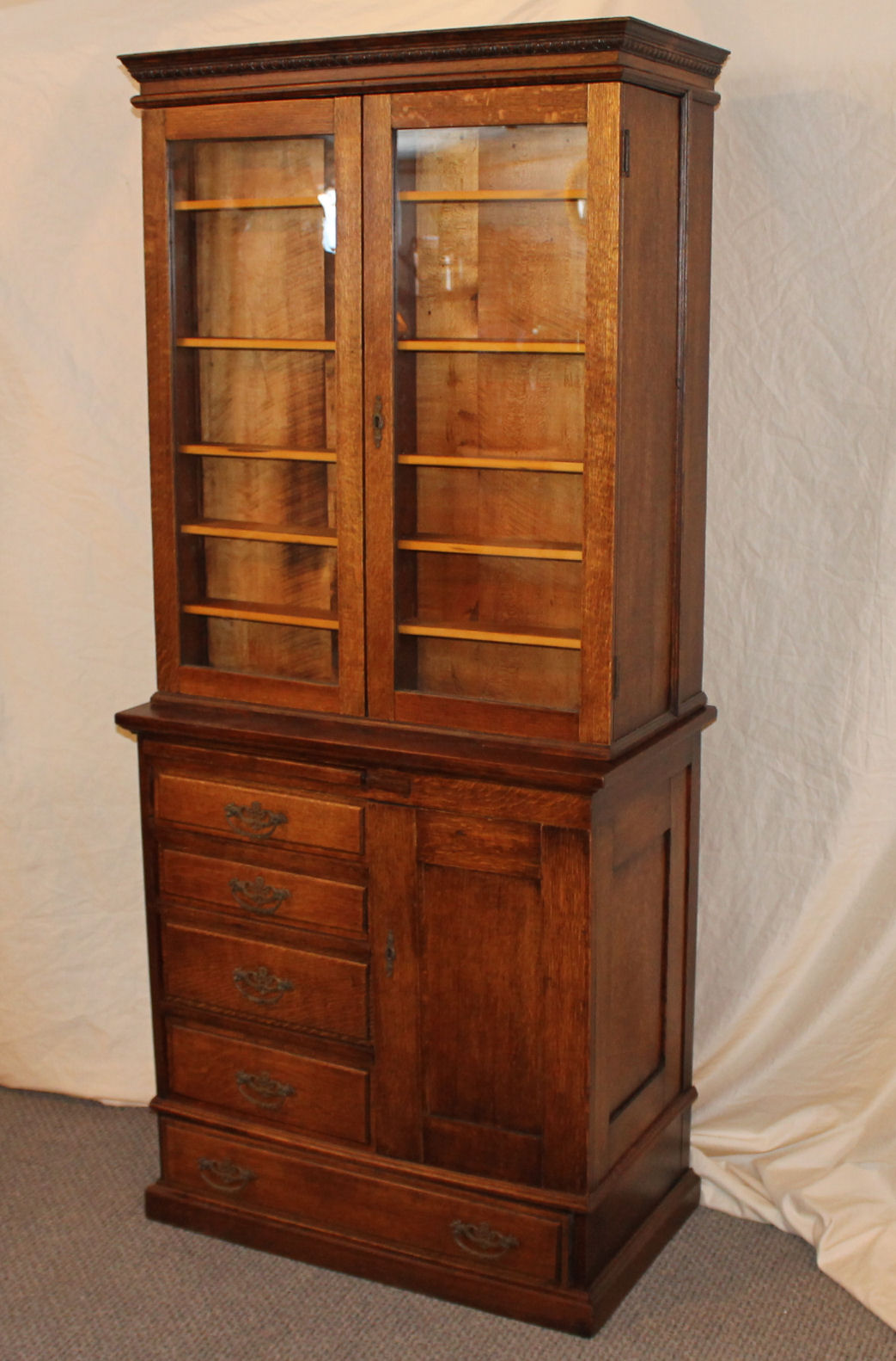 Bargain Johns Antiques Antique Oak Doctor Medical