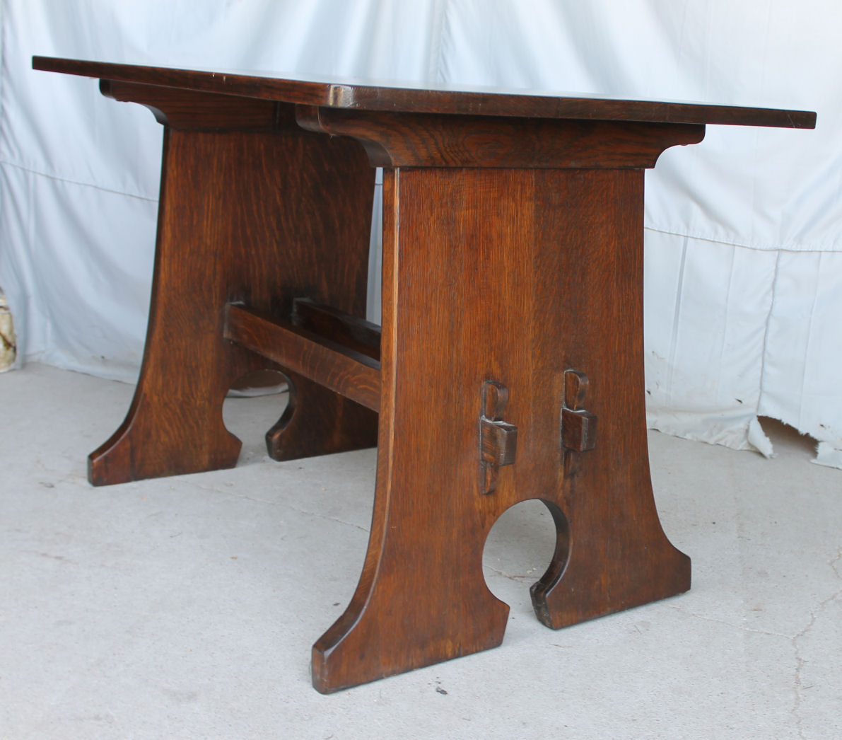 Slab Cast Iron Sewing Tables