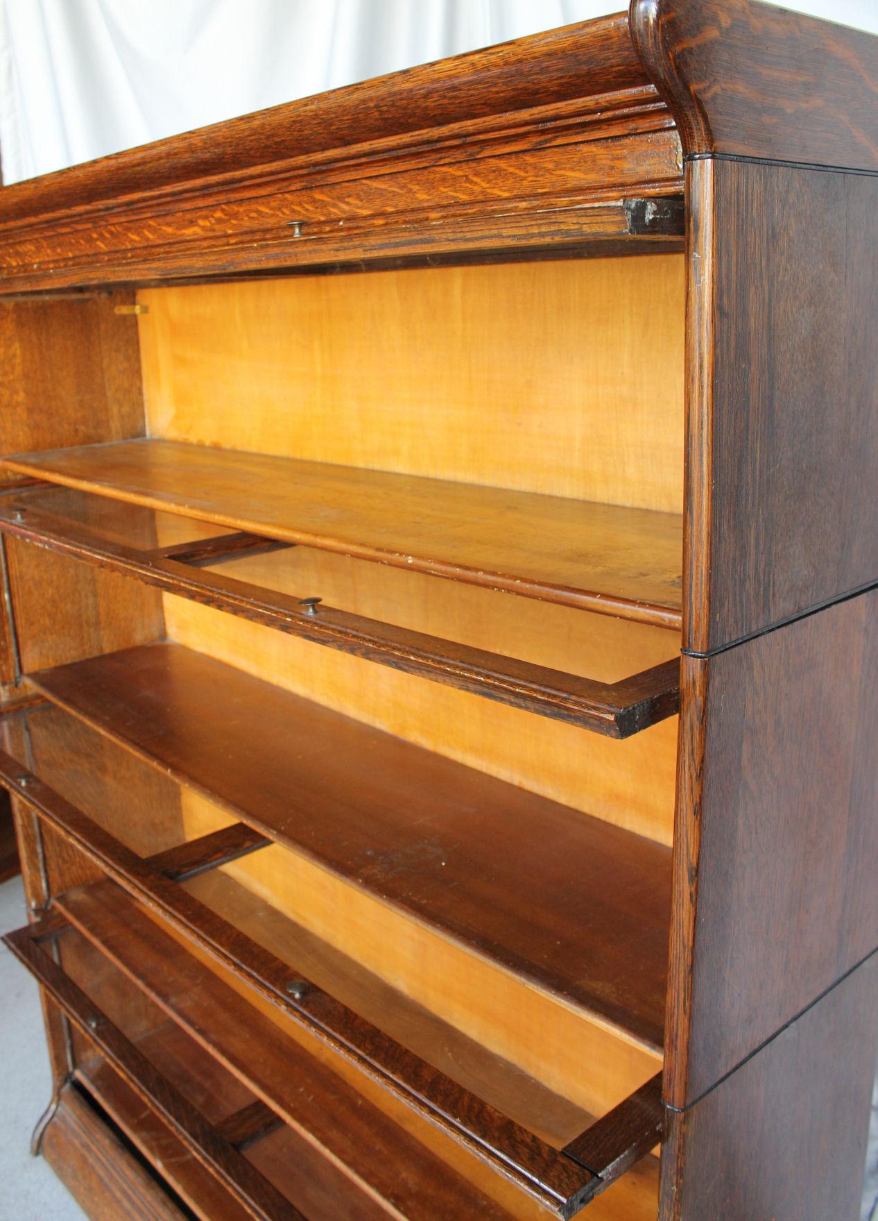 Feet Bookcase 4 Wide