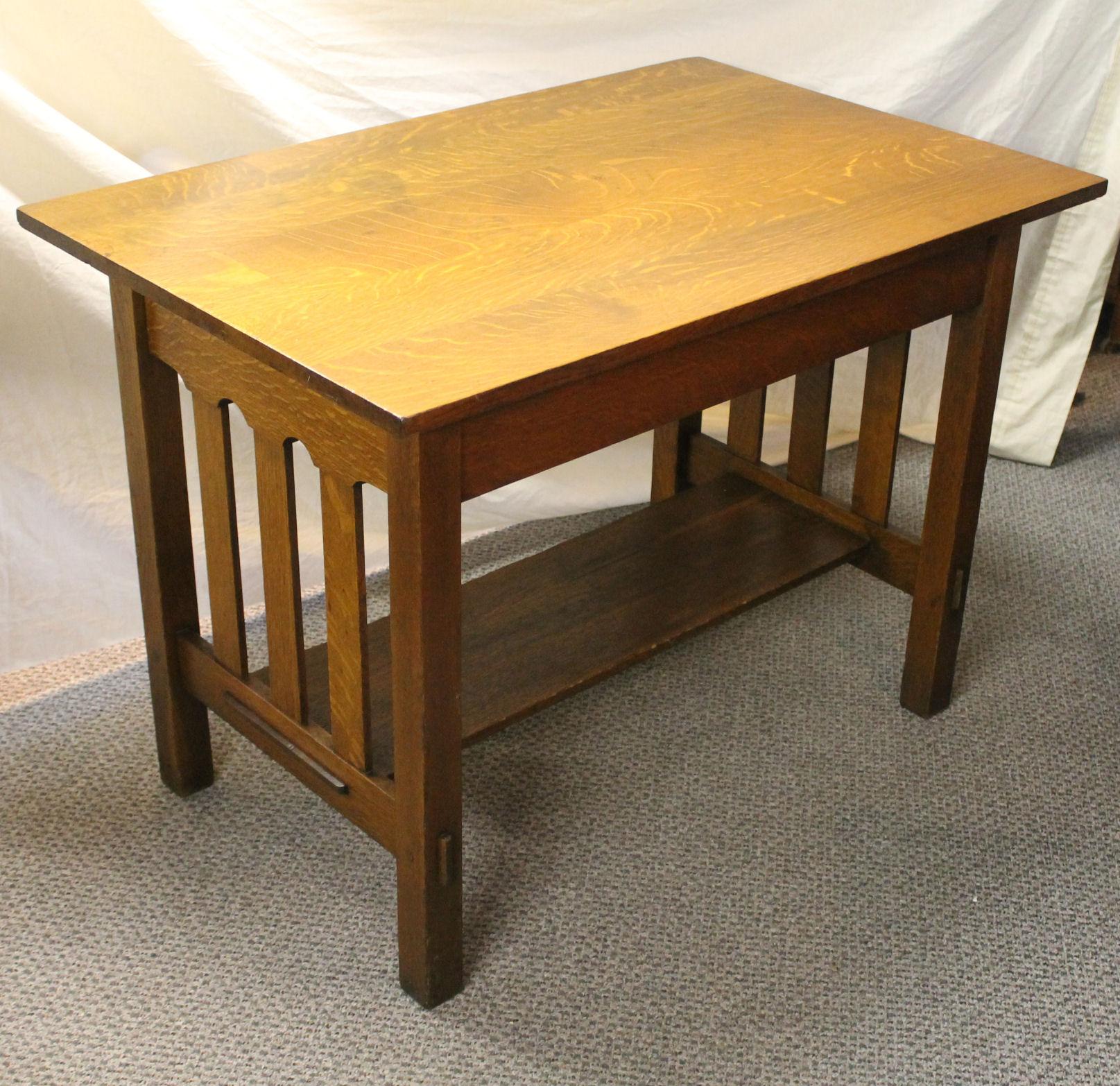 Bargain John S Antiques Antique Mission Oak Arts