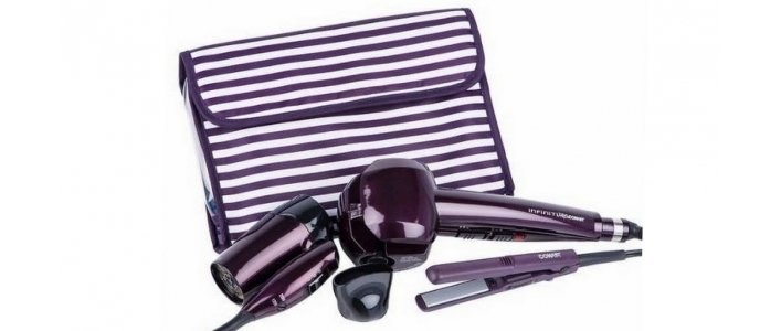 Conair Curl Secret Mini Straightener Amp Travel Hair Dryer