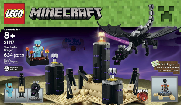 50 Off LEGO Minecraft The Ender Dragon Was 100 Now