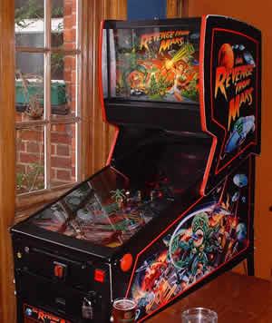 Revenge From Mars Pinball Machine For Sale