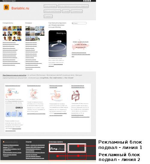 реклама на сайте Bariatric.ru