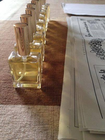 バリバリーの非加熱未精製の香水