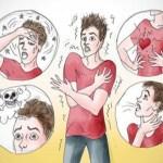 מה הם הסימפטומים של התקף פאניקה?