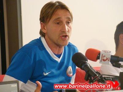 Davide Nicola ai tempi della sua esperienza a Bari