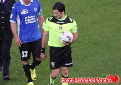 Maresca, arbitro designato per Bari-Cremonese. Diresse anche il preliminare playoff contro il Novara