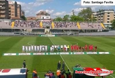 Carpi-Bari, squadre in campo