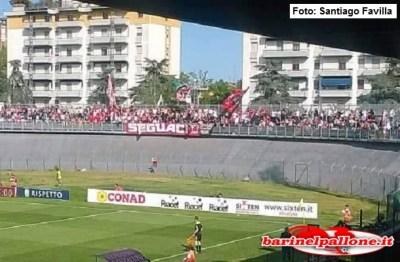 Tifosi del Bari presenti oggi a Carpi