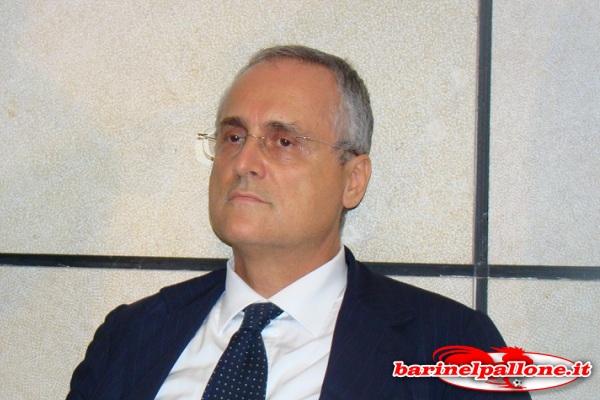 Claudio Lotito, co-patron della Salernitana