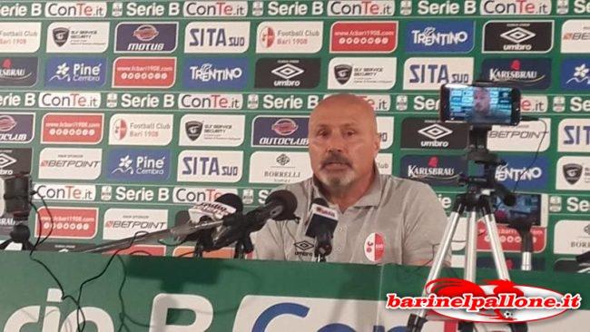 Stefano Colantuono, allenatore del Bari