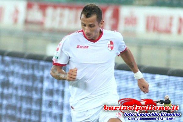 Riccardo Improta, suo il gol del pareggio per il Bari