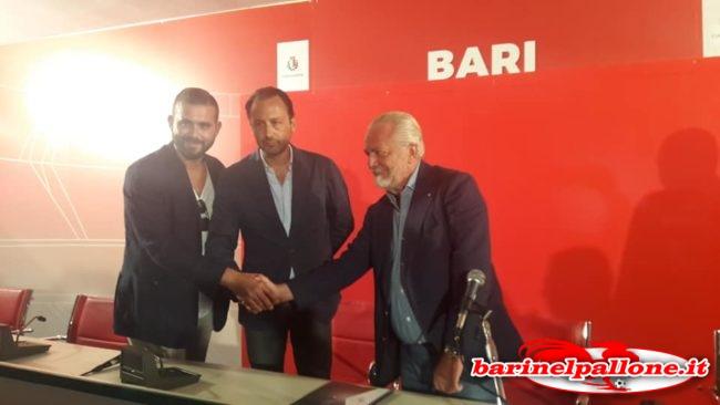 Hagakure diventa il nuovo sponsor della SSC Bari: sushi fresco servito ad ogni partita nella sala Hospitality del 'San Nicola'. Adl-luigi-de-laurentiis-edoardo-de-laurentiis