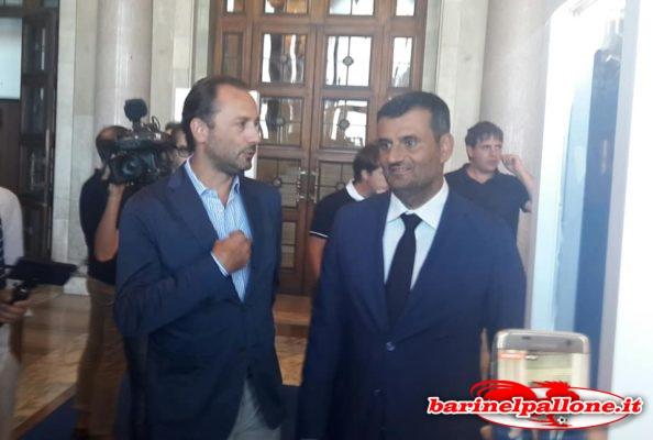 """Decaro a BNP: """"Spero di battere il Napoli un giorno. Il Bari? Una delle sfide più grandi da sindaco"""" De-laurentiis-decaro"""
