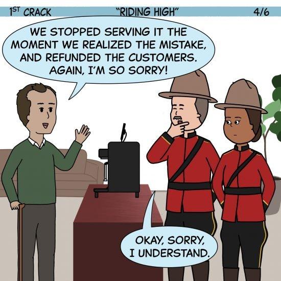 1st Crack, a Coffee Comic 22 de mayo de 2021 Panel 4