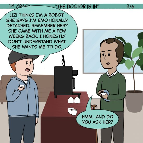 1st Crack Coffee Comic 5 de junio de 2021 Panel 2