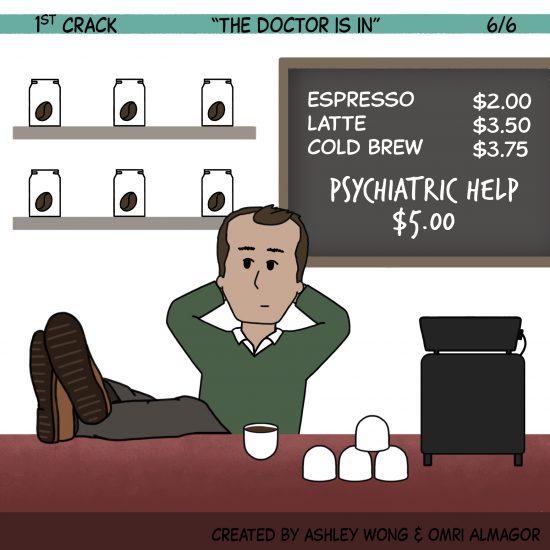 1st Crack Coffee Comic 5 de junio de 2021 Panel 6