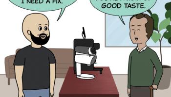 1st Crack Coffee Comic 12 de junio de 2021 Panel 1