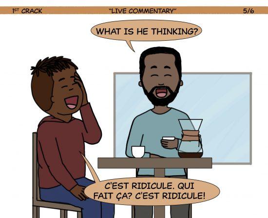 Primer cómic de Crack a Coffee para el fin de semana - 19 de junio de 2021 Panel 5
