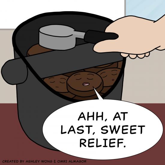 Primer cómic de Crack a Coffee para el fin de semana - 7 de agosto de 2021 Panel 7