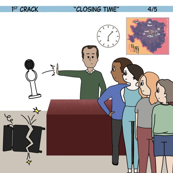 Primer cómic de Crack a Coffee para el fin de semana - 25 de septiembre de 2021 Panel 4