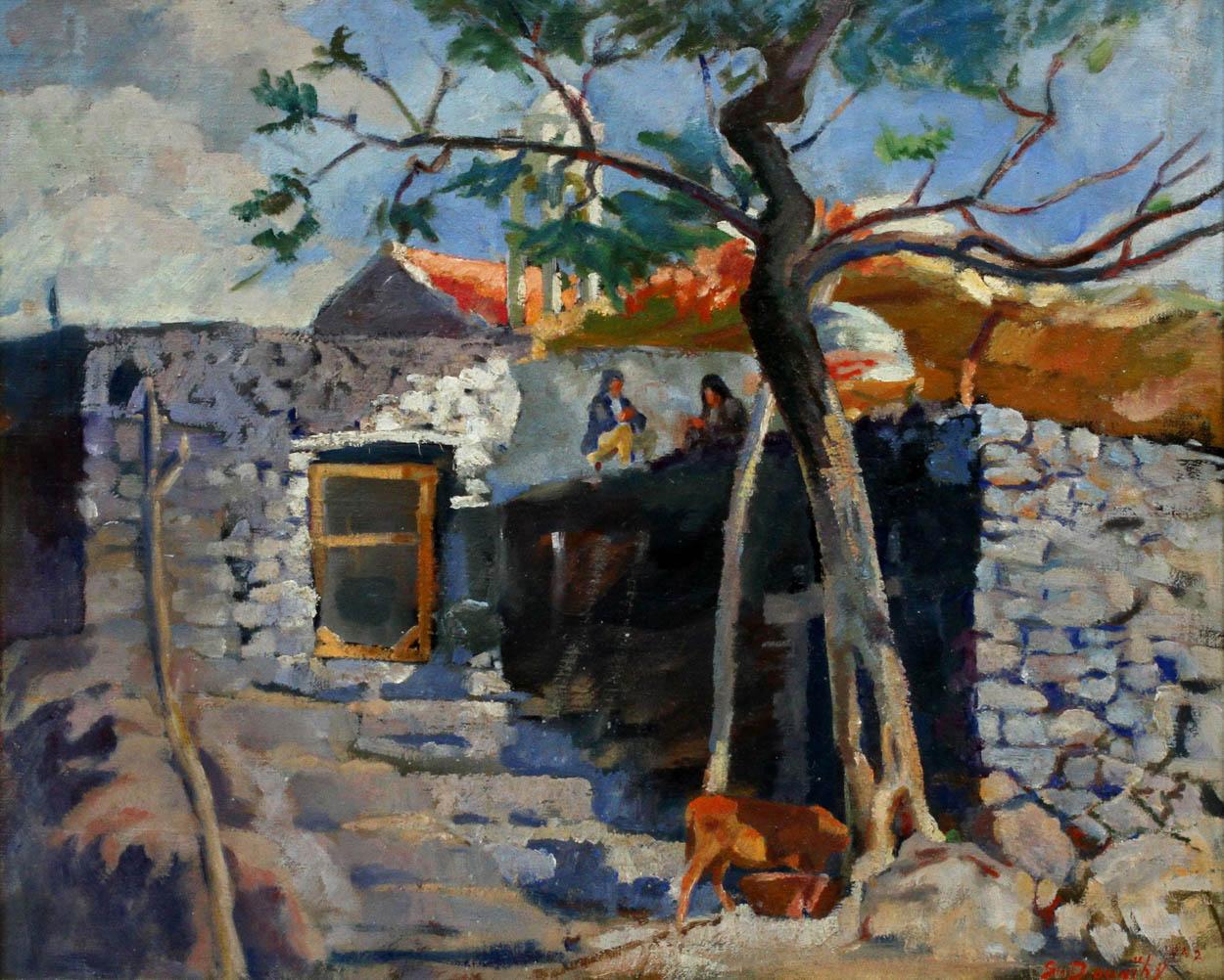 Lebanon Ehden Village, Lebanese House   Barjeel Art Foundation