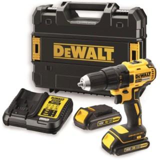 DeWALT DCD777S2T-QW Akkus fúró-csavarbehajtó kofferben (18V/65Nm) Minden termék
