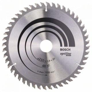BOSCH Körfűrészlap Optiline Wood 210X30-48 Minden termék