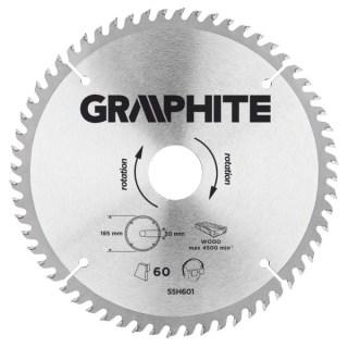 GRAPHITE Körfűrészlap 185X30mm 60 fog Minden termék