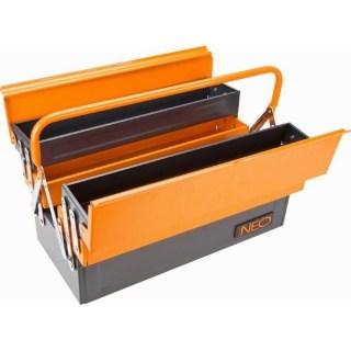 Neo Szerszámosláda fém, 550X220X210 mm Minden termék