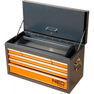 Neo 84-201 Szerszámosláda fém, fiókos, 605X316X386 mm Minden termék