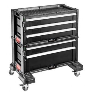 Neo szétszedhető műhelykocsi 5 fiókos 84-226 Minden termék