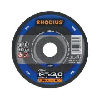 Rhodius FT 33 tip. vágókorong acélhoz 125 x 22,2 x 3,0 Minden termék