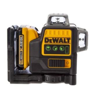 DeWALT DCE089D1G-QW Zöld 3×360° vonallézer 30/60m Minden termék