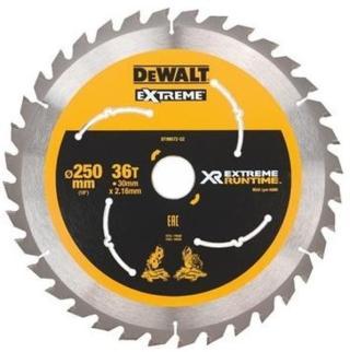 DeWALT DT99571-QZ Körfűrészlap 250/30 mm 36 fog Minden termék