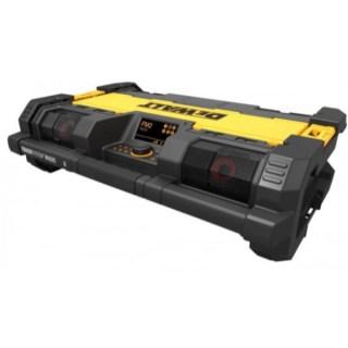 DEWALT DWST1-75659 TOUGHSYSTEM Akkus DAB, Bluetooth Rádió Töltő 14,4V-18V Minden termék